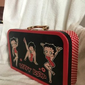 Bags - Bette Boop Hard Covered Red Handle Cases